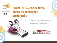 Projet ITEC  Lecteur MP3