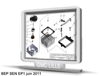 BEP SEN   sujet EP1 juin 2011