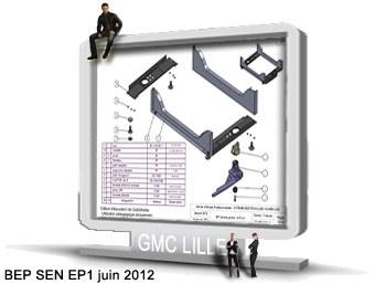 BEP SEN   sujet EP1 juin 2012