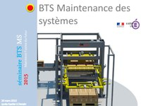 Introduction seminaire académique BTS MS 2015